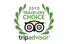 Trip Advisor Travellers Choice Awards 2010 – Best Service Europe