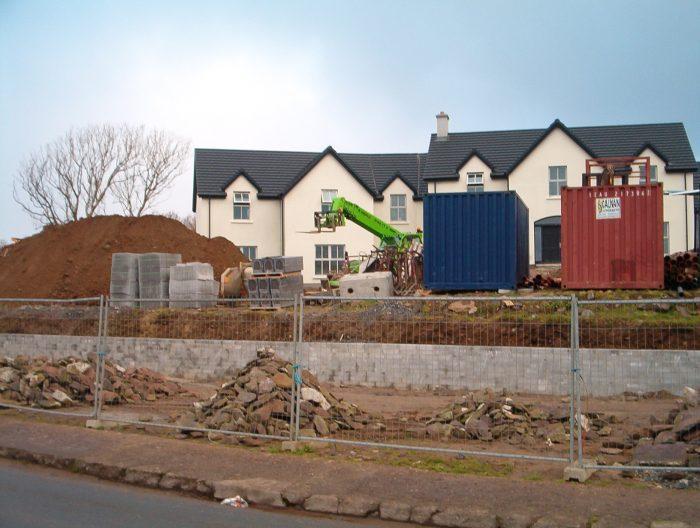 Castlewood House under Construction c 2005