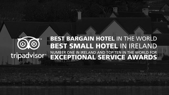 , Castlewood House awarded three Traveller's Choice Award by Trip Advisor.