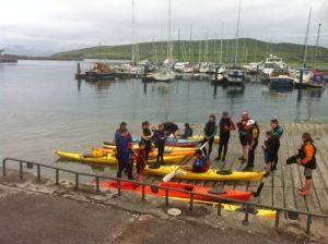 Sea Kayaking on Dingle Bay