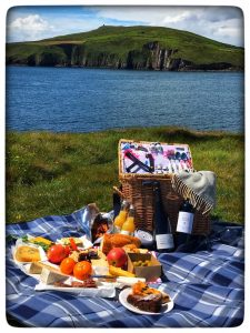 Picnic Basket Blasket Island Package @Castlewood House Dingle