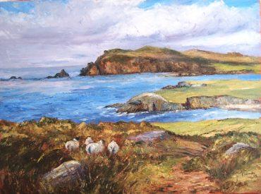 Ballyferriter Sheep Irene Woods