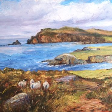 Ballyferriter Sheep Irene Woods