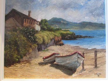 Boats on Ballydavid Beach Irene Woods