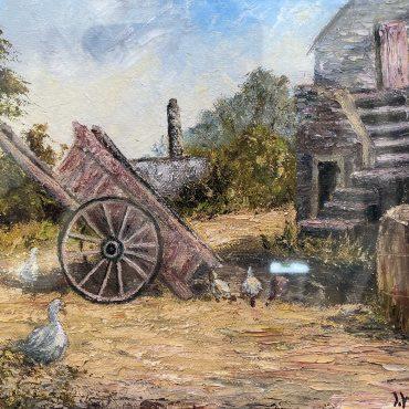 Clarke's Farm by Irene Woods @Castlewood Dingle