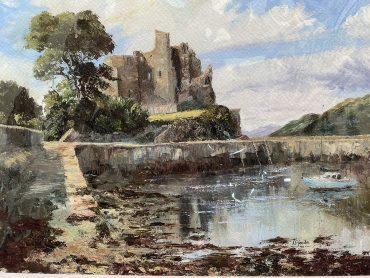 Kings Johns Castle by Irene Woods @ CastlewoodDingle