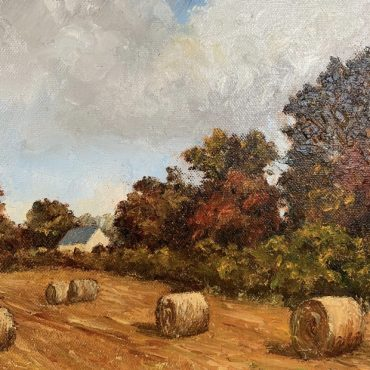 Round Bales by Irene Woods @Castlewood Dingle