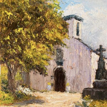 St James Church Dingle by Irene Woods Original Oil